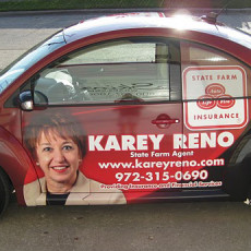 VW-Beetle-wrap-for-State-Farm-agent-Karey-Reno-in-Dallas