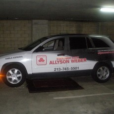 Vehicle-Wrap-for-State-Farm-Agent-Allyson-Weber-in-Los-Angeles