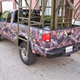 Camo Vinyl Vehicle Wrap