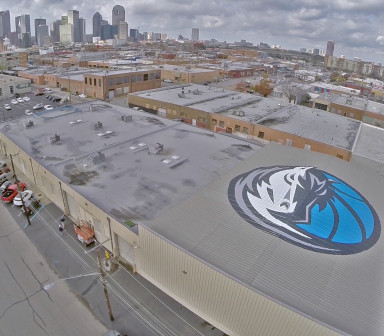 dallas-mavericks-logo-roof-wrap