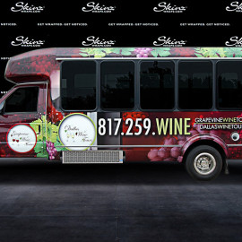 Grapevine wine tours van