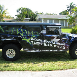 wrapped hummer