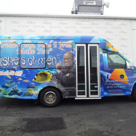 Ministry van - vehicle wraps