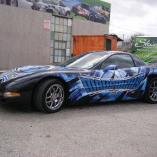 Dallas Mavs Custom Car Graphics