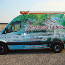 custom van wrap design