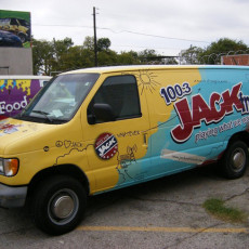 van-wrap-installed-for-Jack-FM-in-Dallas