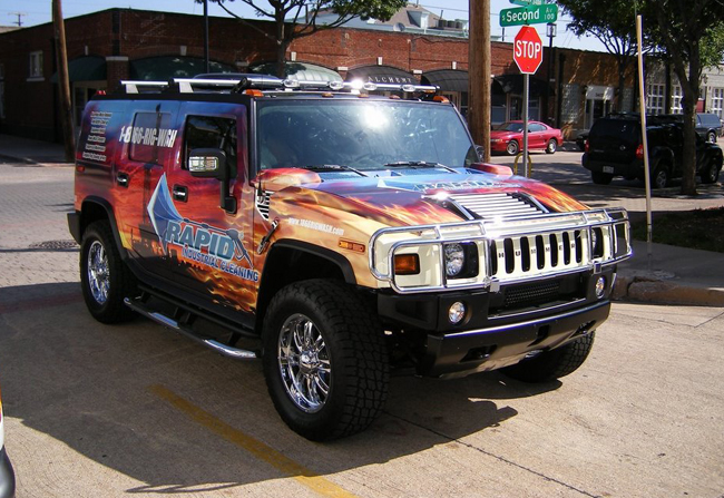 Hummer Wraps & Hummer Graphics, Hummer Vehicle Wrapping