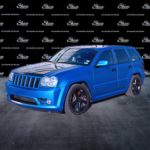 Jeep Cherokee Color Change Wrap