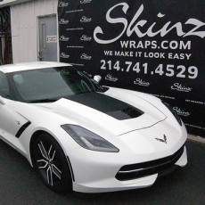 Corvette Color Change Vehicle Wrap