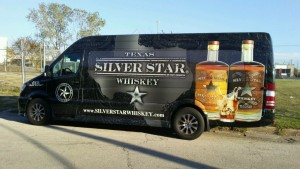 Trinity River Distillery Van Wrap Dallas