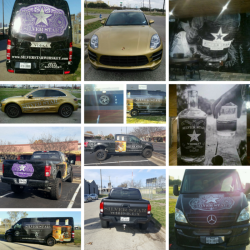 Trinity River Distillery Car Wraps