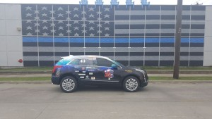Dallas Police car wrap