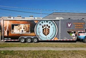 Animal Shelter Trailer Wrap
