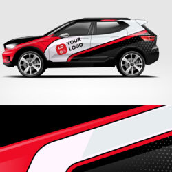 Company branding Car decal wrap design